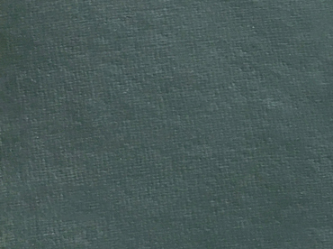 Handmade deckle edge paper in dark green