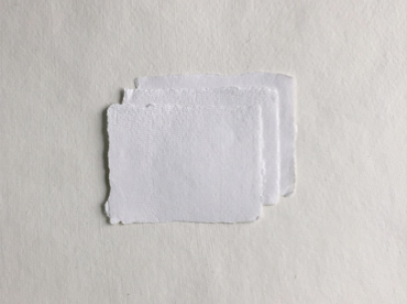 Handmade deckle edge cotton rag paper in 4-Bar
