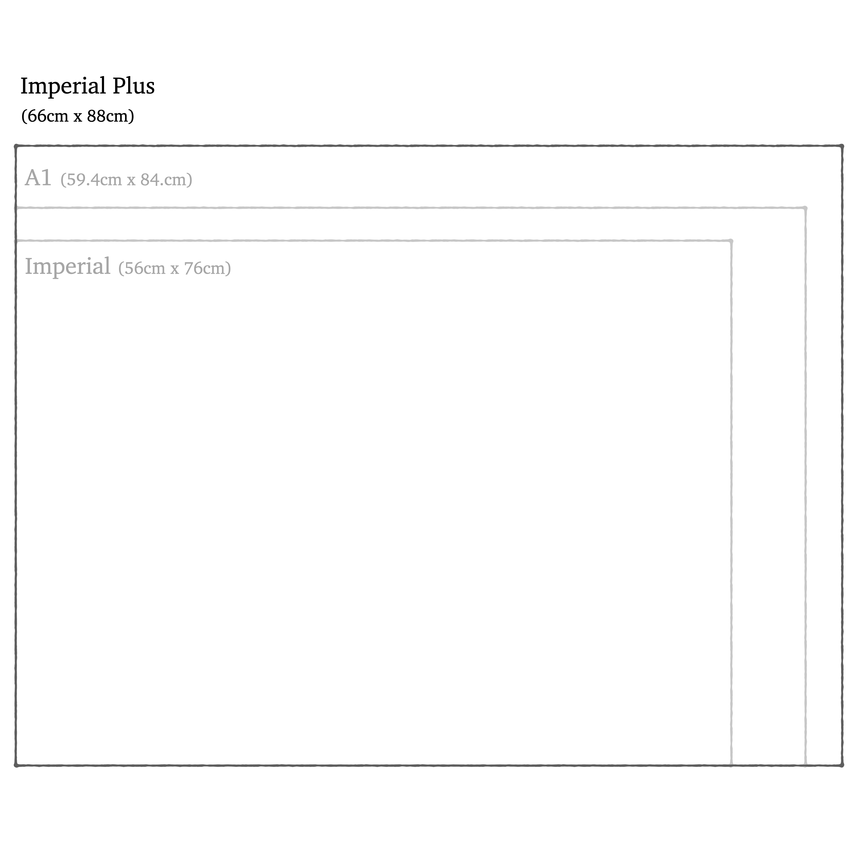 handmade art & craft paper  in size imperial plus